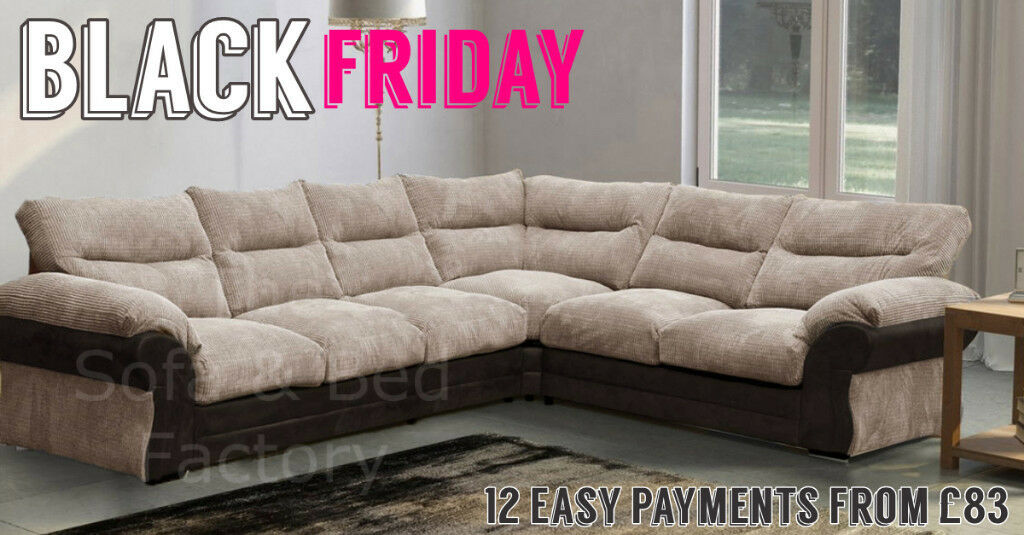 Free Delivery Black Friday Sofa Sale Deals Large 6