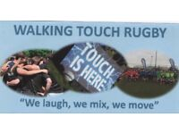 Walking Touch - suitable for all - everyone welcome - pay and play