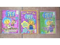 3 Fifi and the Flowerpots DVD's