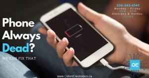 CELL PHONE + TABLET REPAIR - CALL / TEXT 226-242-6543