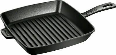 STAUB Amerikanische Grillpfanne quadratisch 26 x 26 schwarz 40501-106 Zwilling ()