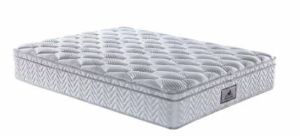 Brand New King/Queen Pocket Spring Mattress with Eurotop Melbourne CBD Melbourne City Preview
