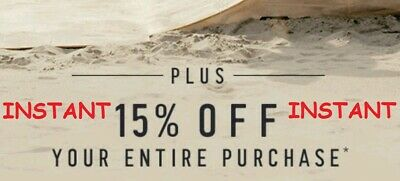 Hollister 15 Off Coupon Entire Purchase In Store Online Instant Delivery