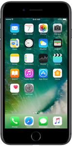 LNIB Iphone 7 plus black with box and charger