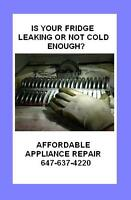 affordable fridge repair 647-637-4220
