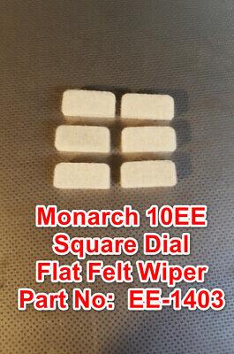 Monarch 10ee Square Dial Metal Lathe Part Ee-1403 Flat Felt Wiper