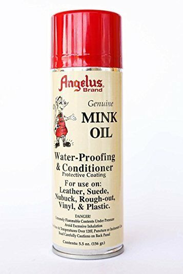 Angelus Genuine Professional Mink Oil Conditioner Spray Clothing & Shoe Care