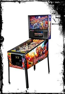 Stern Iron Maiden Pro  Pinball Machine  FREE SHIPPING New Box SHIPS TODAY