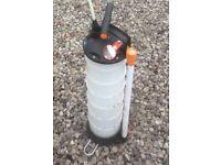 Garage/car mechanic fluids extractor oil/ fuel etc