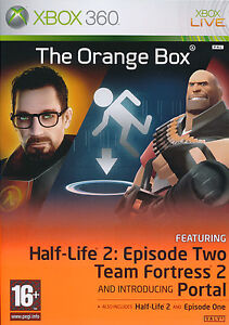 The Orange Box Half Life 2 for XBOX 360 REGION FREE SEALED NEW