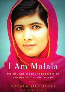 I Am Malala-Malala Yousafzai-Like new-Hardcover book + bonus
