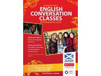 Free Women Only English Conversation Classes in Dundee