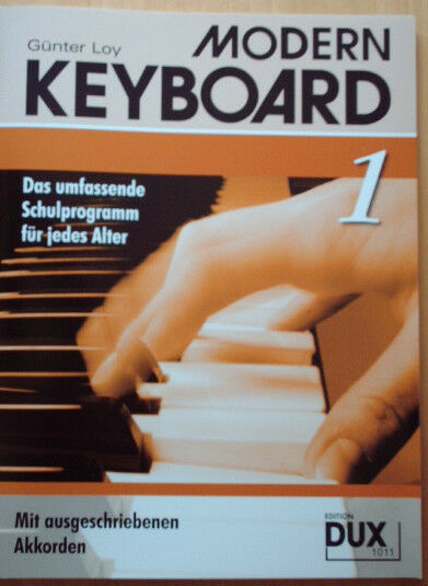 Modern Keyboard - Schule Band 1 ~ Günter Loy