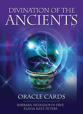 NEW Divination of the Ancients Oracle Cards Deck Richard Crookes
