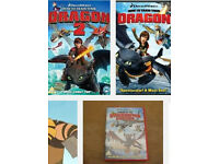 How to train your dragon 1&2/Legend of Boneknapper dragon dvds