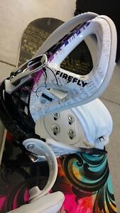 Women's Firefly Snowboard with Bindings + Boots Kitchener / Waterloo Kitchener Area image 3