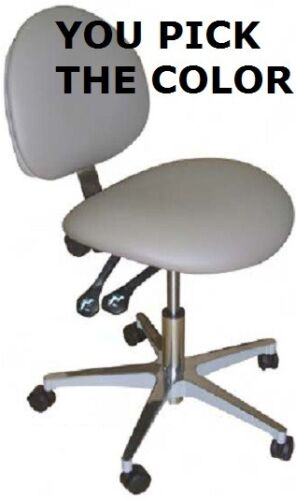 Galaxy Model #2012 Ergonomic Dental Assistant Stool Doctor Chair 17 COLORS