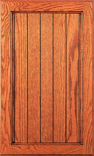 Flat Panel Oak door-Kitchen Cabinet Doors-Unfinished, made to order in the US