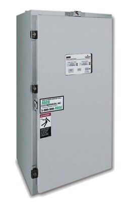 150 Amp Nema 3 Asco 300 Series 3 Phase 208 Vac Automatic Transfer Switch