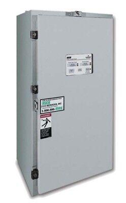 150 Amp Nema 3 Asco 300 Series 3 Phase 208 Vac Automatic Transfer Switch
