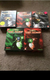 5 command and conquer PC games!