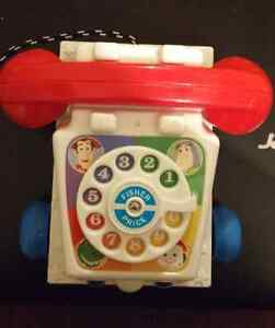 Fisher Price Toy Story Talking Phone