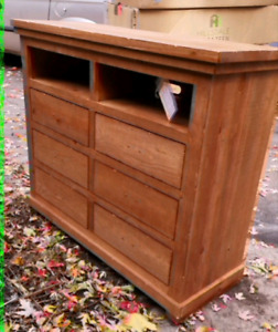 Nouveau New Buffet, Cabinet Solid Wood