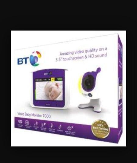bt 7000 video baby monitor in dulwich london gumtree. Black Bedroom Furniture Sets. Home Design Ideas