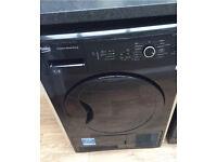 Beko 7kg Condenser Dryer in Gloss Black only 18 months old