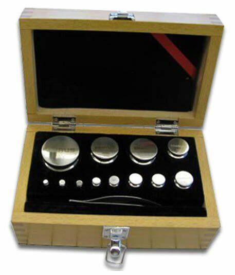 Ohaus 80850114 - ASTM Class 6 Weight Set, Cylindrical, 500g-1g