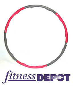 Fitness Depot 3 LB Weighted Fitness Hula Hoop Circle AWHHLB3.0