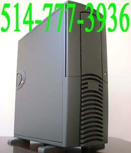 WOW Ordinateur P4 Intel 2.53Ghz 2Gig Ram Usagé Tout Équipé WOW !