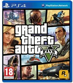GRAND THEFT AUTO V (GTA 5) - PS4 - BRAND NEW AND SEALED