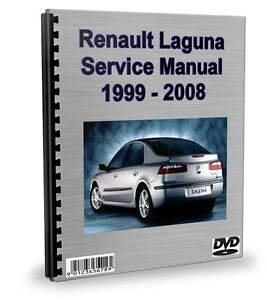 Renault Laguna 1999 - 2008 Workshop Manual Service Repair DVD