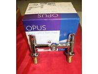 ideal standard opus, bath mixer taps, slimline,