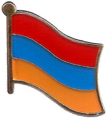 LOT OF 12 Armenian Flag Lapel Pins - Armenia Flag Pin