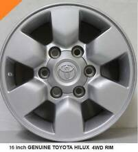 16 inch Toyota Hilux wheel rims Park Orchards Manningham Area Preview