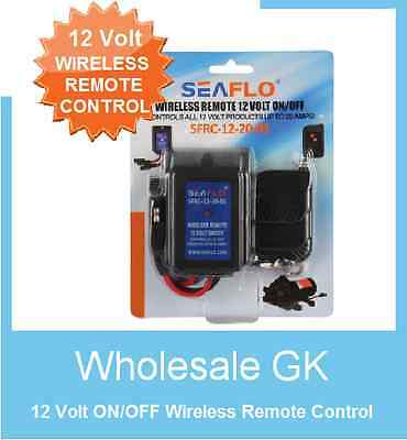 NEW 12 Volt ON/OFF Wireless Remote Control Switch 12v replaces fimco