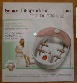Beurer foot bubble spa