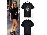 Givenchy rottweiler dress tshirt