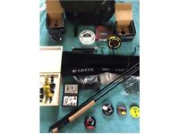 Greys Fly rod and reel combo with accessories