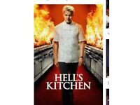 Seasons 1-17 of Hell's Kitchen contact for details