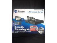 Brand new Swann DVR4-1260 4 Channel Digital Video Recorder & 2 X PRO CCTV Cameras With 500GB HD
