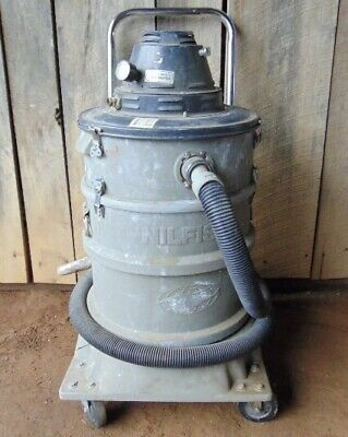 Nilfisk Vacuum Air-operated Industrial Wet Dry Shop Vacuum Cleaner Hepa Vt 60a