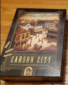 Carson City board game + expansion