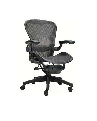 Herman Miller Aeron Chair Size A All Features Plus Adjustable Lumbar Support