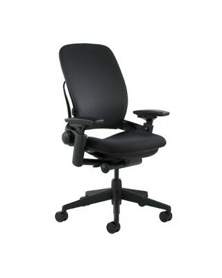 Steelcase Leap Chair 4-way Adjustable Arms Adjustable Lumbar Support V2