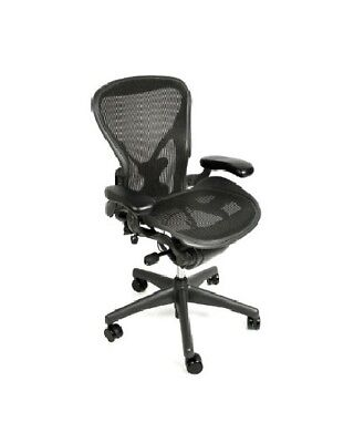Herman Miller Aeron Chair Size C All Features Plus Adjustable Posturefit