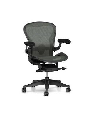 Herman Miller Aeron Remastered Chair Size B All Features Adjustable Lumbar
