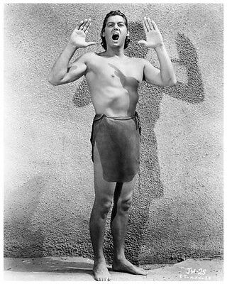 JOHNNY WEISMULLER great promo still as TARZAN -- (y817)